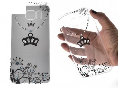 Силиконов Калъф - VENNUS Art -Samsung Galaxy S7 Edge (G935 ) Design 4 Black
