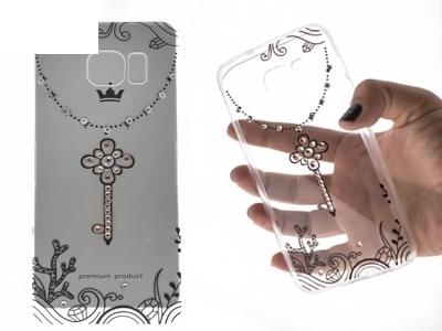 Силиконов Калъф - VENNUS Art -Samsung Galaxy S7 Edge (G935 ) Design 3 Black