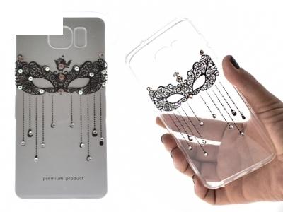 Силиконов Калъф - VENNUS Art -Samsung Galaxy S7 Edge (G935 ) Design 2 Black