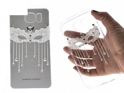 Силиконов Калъф - VENNUS Art -Samsung Galaxy S7 Edge (G935 ) Design 2 White