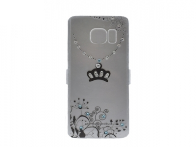 Силиконов Калъф с камъни за Samsung Galaxy S7 (G930 )