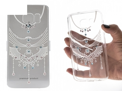 Силиконов Калъф - VENNUS Art -Samsung Galaxy S7 (G930 ) Design 1 White