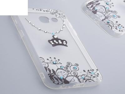Силиконов Калъф - VENNUS Art -Samsung Galaxy A3 (2017 ) Design 4 Black