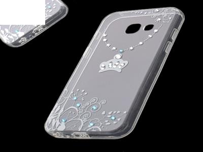 Силиконов Калъф - VENNUS Art -Samsung Galaxy A3 (2017 ) Design 4 White