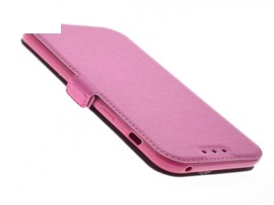 Тефтер странично отваряне - BOOK POCKET Samsung Galaxy A3 (2017) A320 - Pink