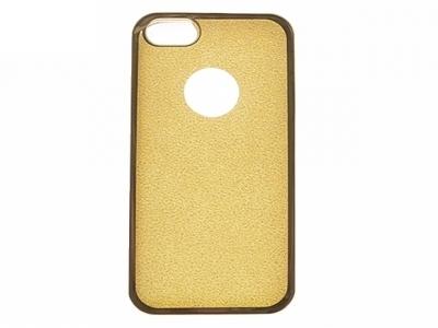 Силиконов Гръб с Брокат Iphone 5 / 5S - Elektro Gold