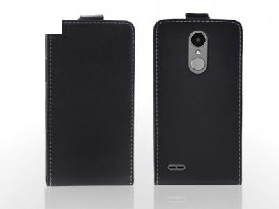 Калъф тефтер за LG K4 2017, Черен