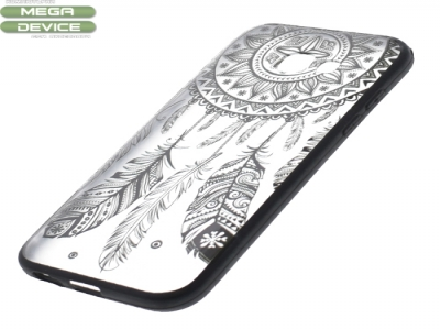 Силиконов Гръб - Samsung Galaxy А5 2017 А520  - Модел 3 (Dream Catcher) Black