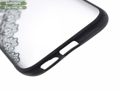 Пластмасов гръб със силконова лайсна за Samsung Galaxy A5 (2017) A520 Черен
