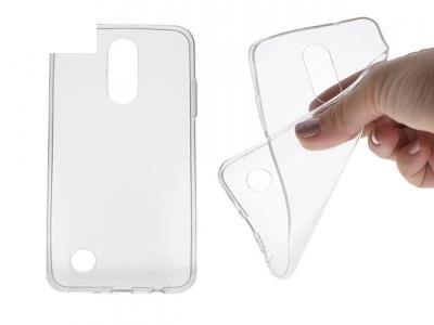 Силиконов гръб за  LG K4 2017, Прозрачен