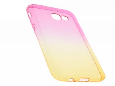 Силиконов гръб OMBRE - Samsung Galaxy A5 2017  - Rose / Gold