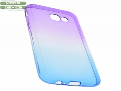 Силиконов гръб OMBRE - Samsung Galaxy A5 2017  - Purple / Blue