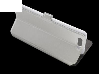 Калъф Тефтер странично отваряне за  Huawei P10 Plus White