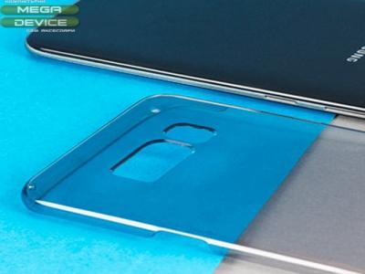 Силиконов гръб Samsung GALAXY S8 2017 G950, Черен/ Прозрачен