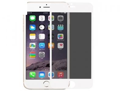 Стъклен протектор 0.3mm 180 Degrees Privacy Full Screen iPhone 6S 6 - White