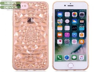 Силиконов гръбSulada 3D Crystal Series Bling Style Soft  iPhone 7 / 8, Златист