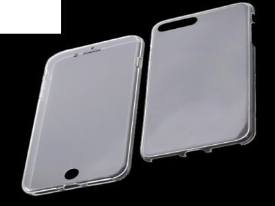 Силиконов Калъф 360 T24 - IPhone 7 Plus/ 8Plus, Прозрачен