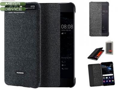 Калъф Тефтер Original Huawei P10 Smart Cower Dark Grey