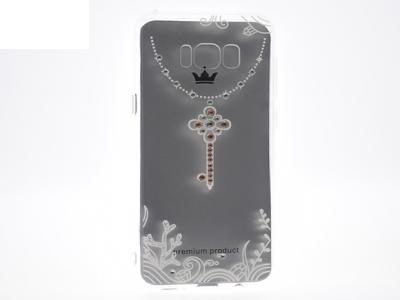 Силиконов гръб VENNUS за Samsung Galaxy S8 Plus 2017 (G955 ), Бял