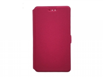 Тефтер странично отваряне - BOOK POCKET Huawei P10 Plus Pink