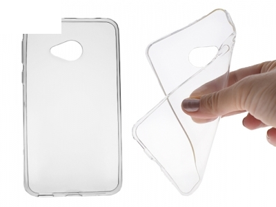 Силикон Ултра Слим - HTC U PLAY Transparent Relef