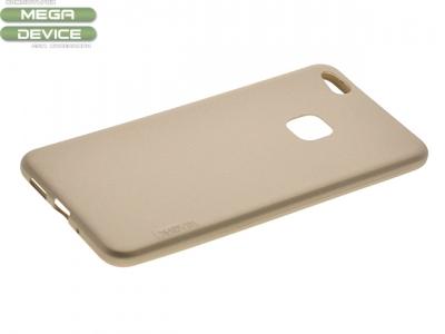 Силиконов гръб за  Huawei P10 Lite Златист
