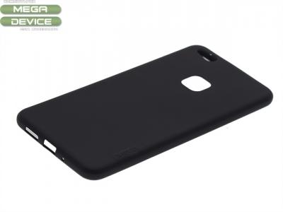 Силиконов гръб за Huawei P10 Lite Черен