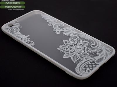Силиконов Гръб за Iphone 7( 4.7) Бял