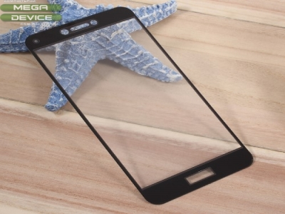 Стъклен протектор 3D Full за Huawei P10 - Черен