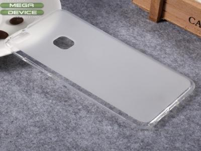 Матиран Силикнов Калъф за Huawei P10 Lite Прозрачен