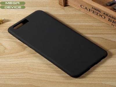 Калъф Гръб силикон Матиран Huawei P10 - Black