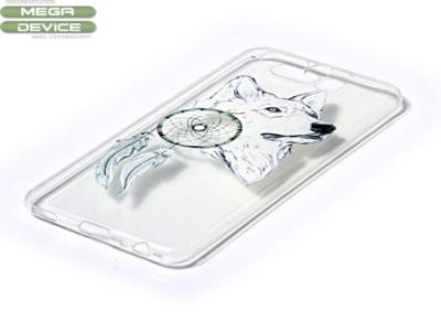 Калъф гръб силикон Huawei P10 - Wolf and Dreamcatcher
