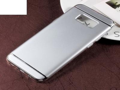 Калъф Гръб PVC 3 in 1 -  Samsung Galaxy S8 G950 - Silver
