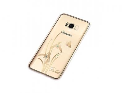 Калъф Гръб PVC - KINGXBAR  Samsung Galaxy S8 2017 G950 - Orchid