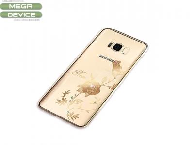 Калъф Гръб PVC - KINGXBAR Samsung S8 2017 G950 - Rose