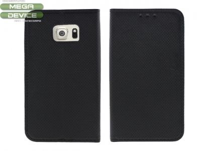 Тефтер странично отваряне за Samsung Galaxy S6 Edge 2015 G925 Черен