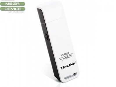 Адаптор WiFi TP-Link TL-WN727N USB N 150Mbps