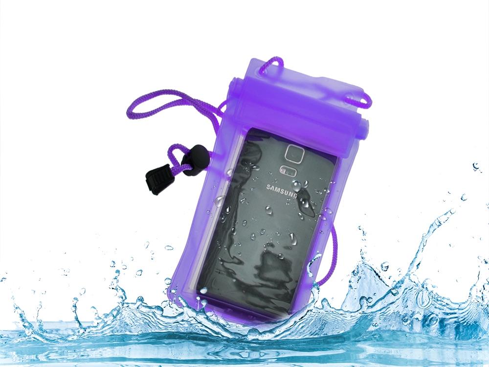 Калъф за Телефон Water W15 Лилав