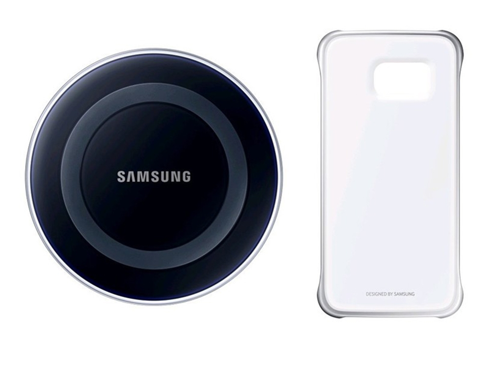 Оригинален Калъф Samsung Galaxy S6 + Inductive charger (EF-QG920BSE)