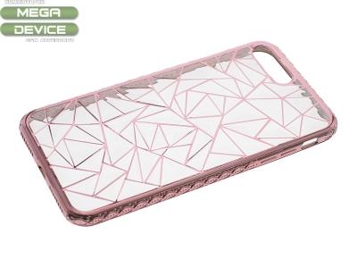 Силиконов калъф  LUXURY за Iphone 7 Plus / 8 Plus Розов