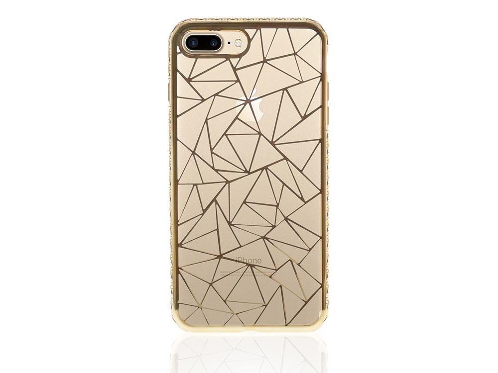 Силиконов калъф  LUXURY за Iphone 7 Plus/ 8 Plus Златист