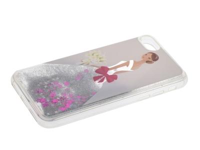 Силиконов Калъф  за Iphone 7 / 8  Liquid White Lady