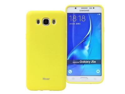 Силиконов гръб  Roar за Samsung Galaxy J5 2016 J510, Жълт