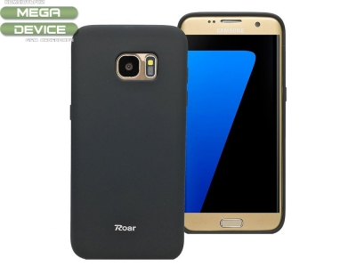 Силиконов гръб  Roar за Samsung Galaxy S7 Edge 2016 (G935) Черен