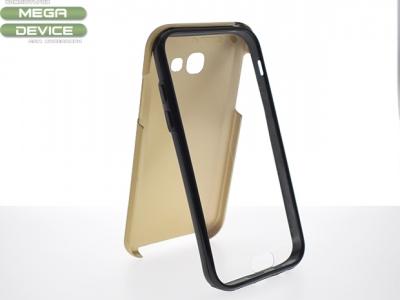 360 Силиконов Калъф за Samsung Galaxy A5 2017 A520 Златист