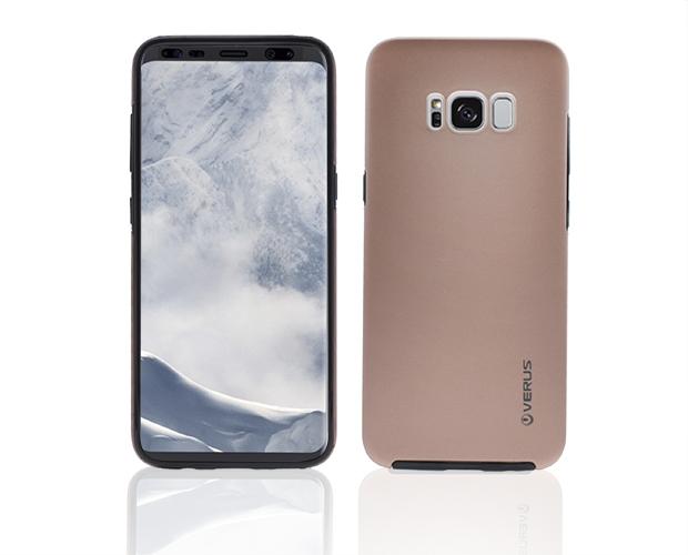 360 Силиконов Калъф за Samsung Galaxy S8 2017 (G950F) Розов Златист