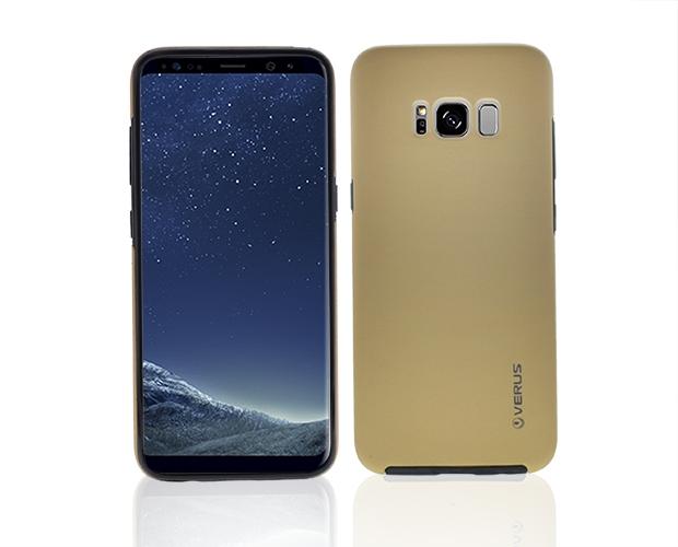 360 Силиконов Калъф за Samsung Galaxy S8 2017 (G950F) Златист