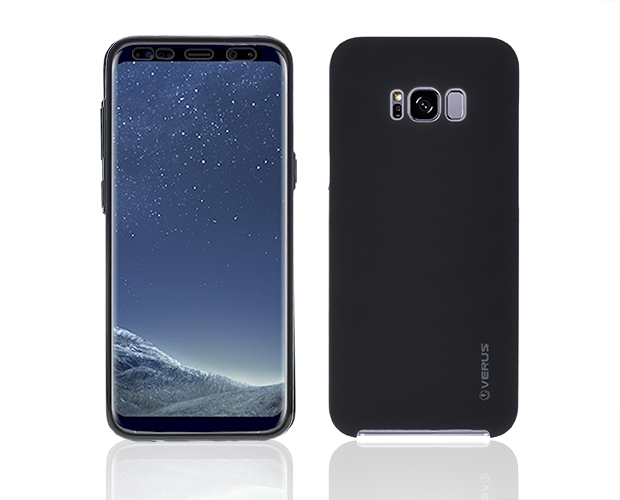 360 Силиконов Калъф за Samsung Galaxy S8 2017 (G950F) Черен