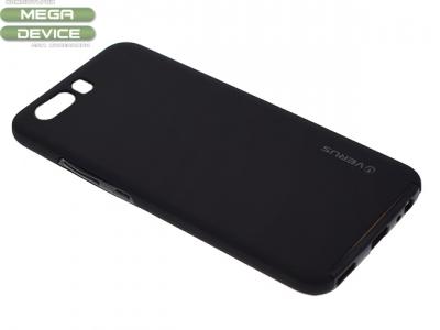 360 Градуса Силиконов Калъф за Huawei P10 Черен