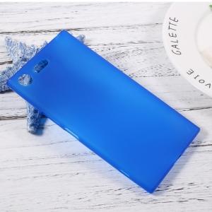 Калъф Гръб Силикон матиран за Sony Xperia XZ Premium Син